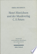 Henri Hinrichsen und der Musikverlag C.F. Peters