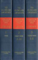 all england law reports consolidated tables and index 1936 2012