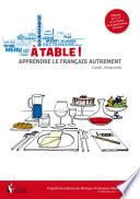 A table  Apprendre le fran  ais autrement   Cahier d exercices