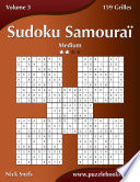 illustration Sudoku Samouraï - Medium - Volume 3 - 159 Grilles
