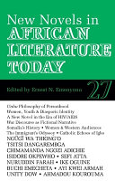New Novels in African Literature Today