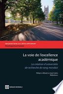 La voie de l'excellence académique