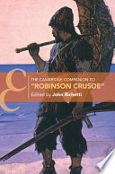 The Cambridge Companion to    Robinson Crusoe