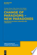 Change of Paradigms – New Paradoxes