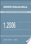 Archivio Scialoja-Bolla (2006)