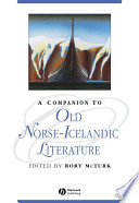 A Companion to Old Norse Icelandic Literature and Culture
