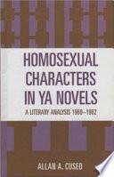 Homosexual Characters in YA Novels