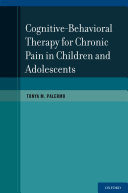 CBT for Chronic Pain in Children and Adolescents