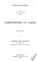 Annual Report of the Commissioner of Labor