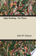 Sight Reading   For Piano