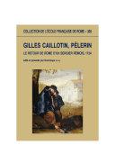 Gilles Caillotin  p  lerin