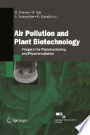 Air Pollution and Plant Biotechnology