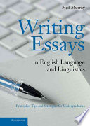 Writing Essays in English Language and Linguistics