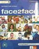 Face2face  Pre intermediate  B1    Student s book with CD ROM Audio CD