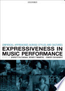 Expressiveness In Music Performance