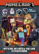 Minecraft Official The Nether And The End Sticker Book Minecraft