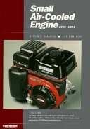 Small Air cooled Engine Service Manual  1990 1994
