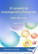 III Jornada de Investigaci  n y Postgrado