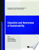 Education And Awareness Of Sustainability Proceedings Of The 3rd Eurasian Conference On Educational Innovation 2020 Ecei 2020