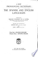 A Pronouncing Dictionary of the Spanish and English Languages  Composed from the Spanish Dictionaries of the Spanish Academy  Terreros  and Salv