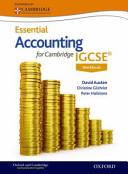 Accounting for Cambridge IGCSE Workbook