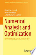 Numerical Analysis And Optimization book