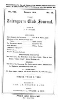 Cairngorm Club Journal