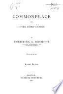 Commonplace and Other Short Stories