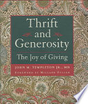 Thrift Generosity