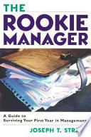 The Rookie Manager Book PDF