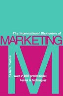 The International Dictionary of Marketing