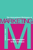 The International Dictionary of Marketing