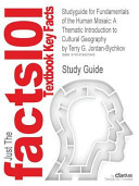 Studyguide for Fundamentals of the Human Mosaic