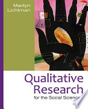 Qualitative Research For The Social Sciences