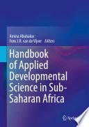 Handbook of Applied Developmental Science in Sub Saharan Africa
