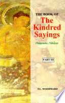 The Book of the Kindred Sayings  Sa   yutta nik  ya  Or Grouped Suttas  The book on Elements  Khandh   vagga