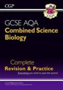 New Grade 9 1 GCSE Combined Science  Biology AQA Complete Revision   Practice with Online Edition