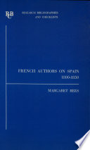 French Authors on Spain  1800 1850
