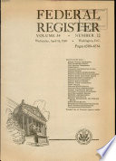 Federal Register Book PDF