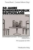 50 Fünfzig Jahre Bundesrepublik Deutschland