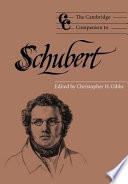 The Cambridge Companion To Schubert book