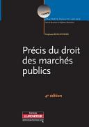 Pr Cis Du Droit Des March S Publics
