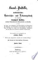 Hand-Postille, oder christkatholisches Unterrichts- und Erbauungsbuch des ehrwürdigen Leonhard Goffine, weiland Prämonstratenser- Ordenspriester zu Steinfeld