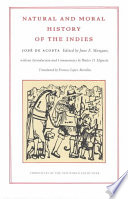 natural and moral history of the indies
