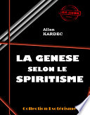 illustration La Genèse selon le Spiritisme