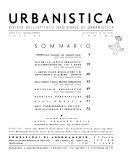 Urbanistica rivista bimestrale dell Istituto nazionale di urbanistica