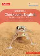 Collins Cambridge Checkpoint English   Stage 9  Student Book