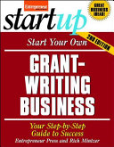Start Your Own Grant Writing Business 2/E