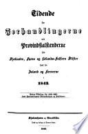 Tidende for forhandlingerne ved Provindsialstaenderne for Sjaellands  Fyens of Lollands Falsters stifter samt for Island Faer  erne
