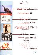 Revue Historique des Armées n°4